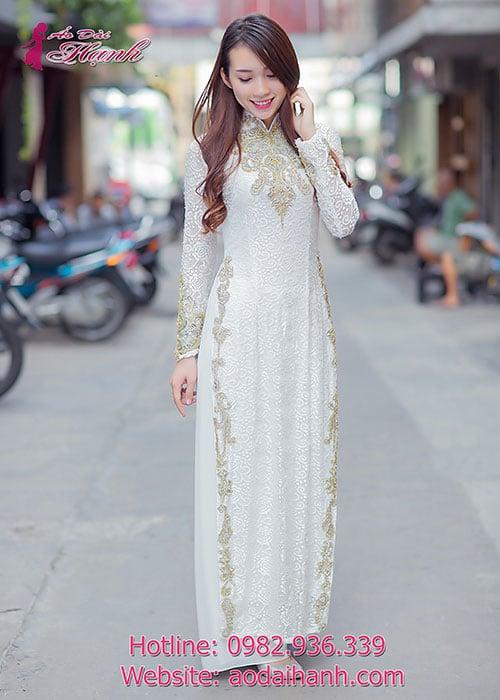 Áo dài cưới dành cho cô dâu mẫu số 70